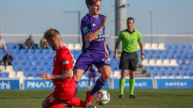 Sieben Dewaele, 20 ans, prolongé au RSC Anderlecht