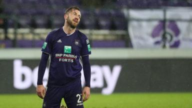 Anderlecht déçoit encore en partageant contre Zulte Waregem