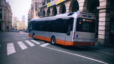 Les bus hybrides de la STIB sont trop bas et raclent le sol