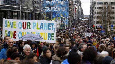 Toute la Belgique mobilisée lors de la grève pour le climat ce 15 mars