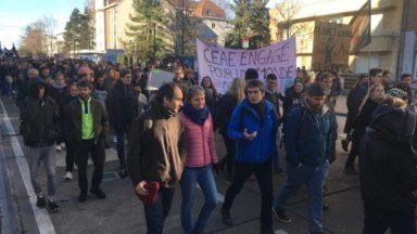 Manifestation climat : les universités rejoignent le mouvement