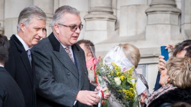 La famille royale réunie pour une messe de commémoration de ses membres défunts