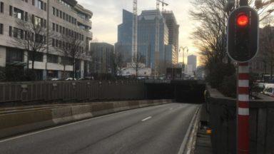 Les travaux autour du tunnel Rogier terminés d'ici début mars, annonce Bruxelles-Mobilité
