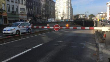 Le tunnel Léopold II est rouvert dans les deux sens