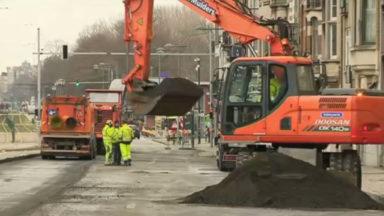 Les travaux du boulevard Général Jacques entrent dans la deuxième phase