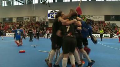 Hockey en salle : Le White Star s'impose en finale dans le derby bruxellois contre le Léopold
