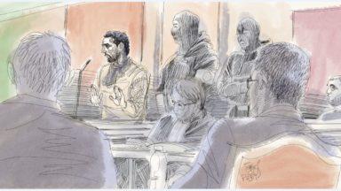 Procès du Musée juif : Mehdi Nemmouche indique qu'il se tait pour protéger quelqu'un
