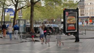 Ixelles et Watermael-Boitsfort ne veulent pas de panneaux publicitaires digitaux