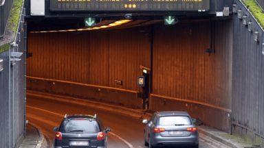 Les tunnels bruxellois endommagés par 60 camions en 2018