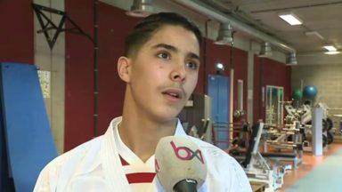 Youness Oualad est vice-champion d'Europe de karaté