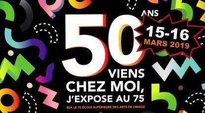 50 ans ESA 75 - école supérieure des arts de l'image événement