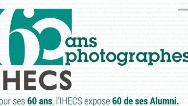 L'exposition de photographies pour les 60 ans de l'IHECS s'ouvre ce vendredi