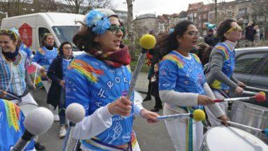 Un carnaval aux sonorités brésiliennes anime les rues de Saint-Gilles