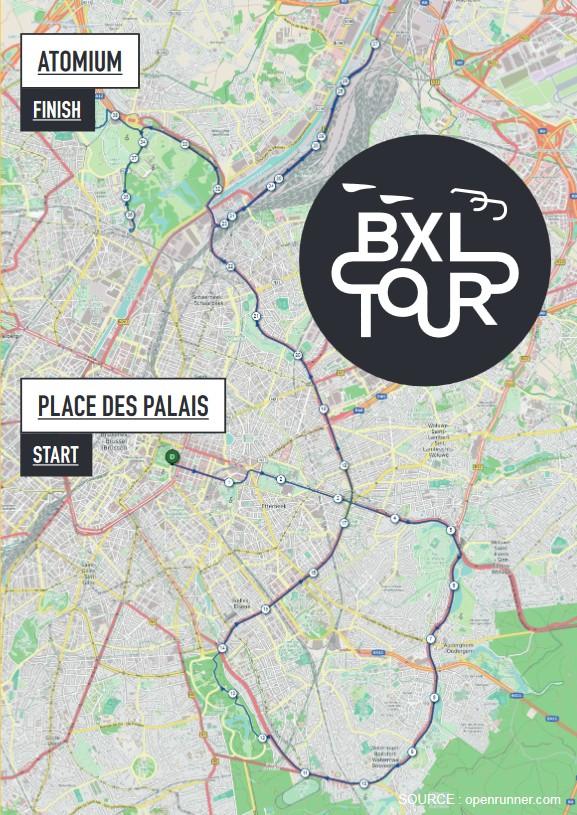 Carte BXL Tour 2019