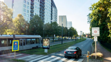 Schaerbeek : 22% de PV en moins sur le boulevard Léopold III