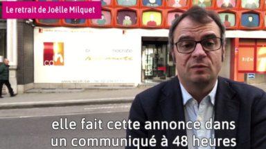 Rue de la Loi : Joëlle Milquet, un retrait qui risque de coûter cher au CDH