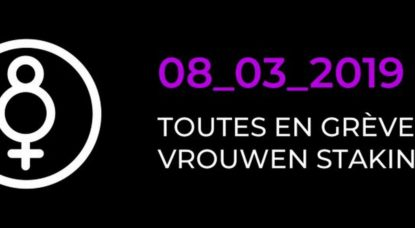 Grève Chercheuses ULB - Logo - 8 mars 2019