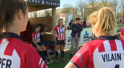 Hockey sur gazon - Dames Léopold Uccle - 25032019