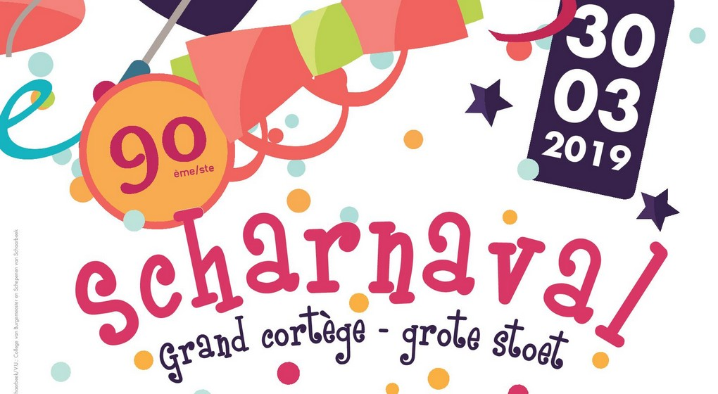 Logo - Scharnaval Carnaval 2019