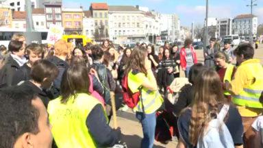 500 participants à la marche pour le climat ce jeudi à Bruxelles