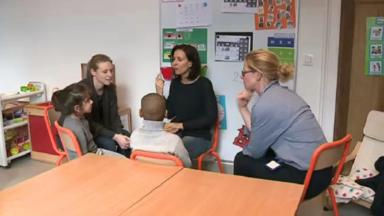 Rencontre avec une classe de maternelle thérapeutique à l'hôpital des enfants