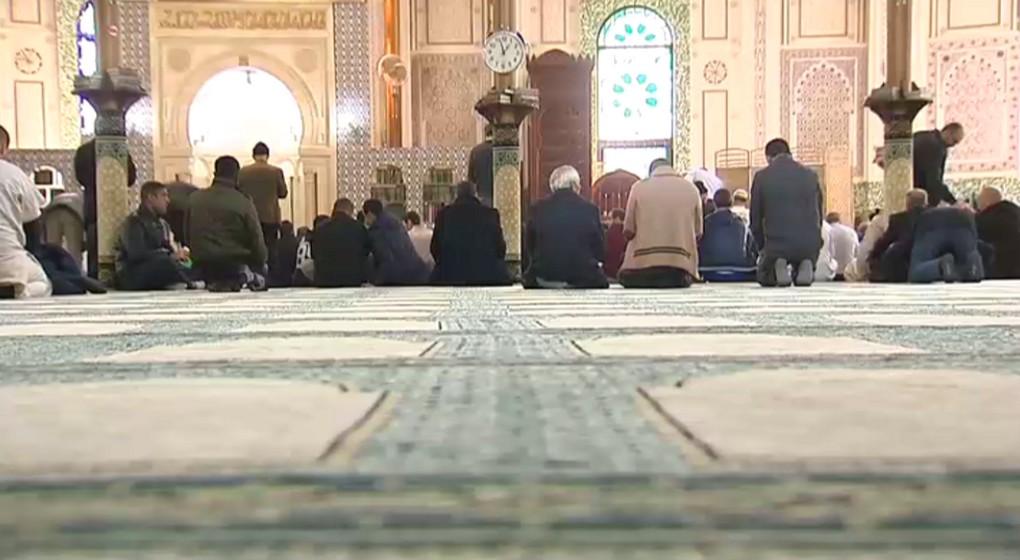 Mosquée Bruxelles - Illustration BX1
