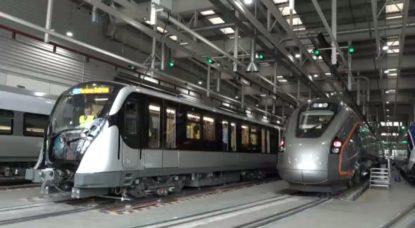 Nouveau métro Stib Construction Bilbao - BX1