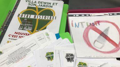 Forest : une pétition de 4500 signatures sur la Villa Dewin adressée à Rudi Vervoort