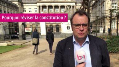 Rue de la Loi : pourquoi ils se battent sur une révision de la Constitution