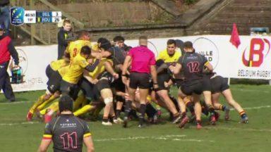 Rugby : les Diables noirs s'inclinent pour la 4e fois en 5 matches en Europe Championship