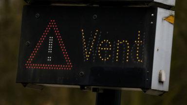 Alerte jaune aux rafales de vent sur l'ensemble de la Belgique ce dimanche
