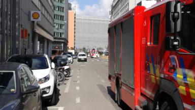 Alerte à la bombe au rond-point Schuman : le périmètre de sécurité est levé