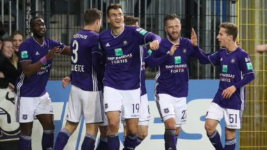 Anderlecht conserve sa 6e place et Lokeren est sportivement rétrogradé après 23 ans