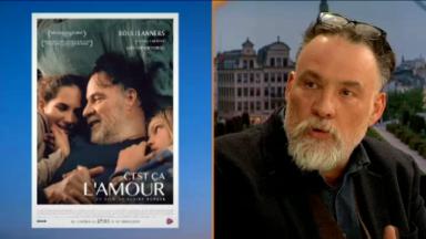 """Bouli Lanners présente dans #M le film """"C'est ça l'amour"""", sorti en salle ce mercredi"""