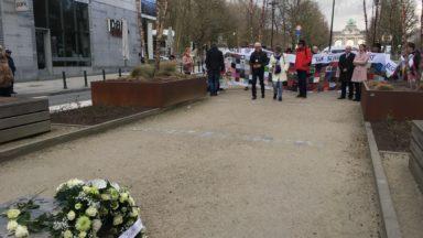 Marche solidaire des victimes des attentats de Bruxelles et des tueurs du Brabant