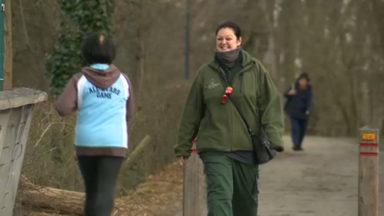 Christelle, circassienne, embrasse une nouvelle carrière de gardienne de parc