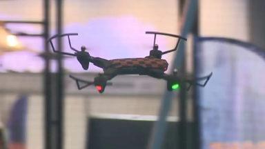 Des milliers de drones se posent à Brussels Expo