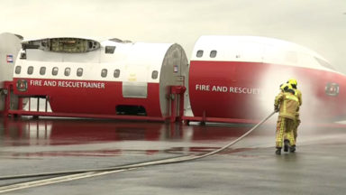 Inauguration de deux nouvelles casernes de pompiers à Brussels Airport