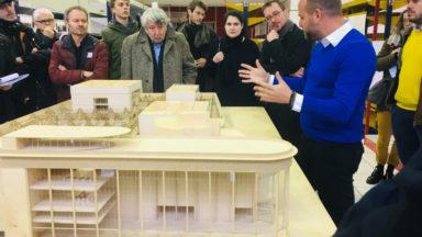 L'Atelier Kanal dépose une demande de permis d'urbanisme
