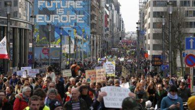 """Une marche """"pour la paix et la justice climatique"""" aura lieu dimanche à Bruxelles"""