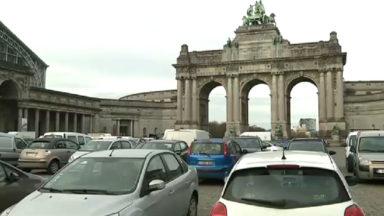 La Ville de Bruxelles et la Région plaident pour transformer le parking du Cinquantenaire en espace piéton