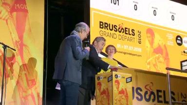 Tour de France : la place De Brouckère en fête à 100 jours du Grand Départ