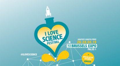 Bannière Logo I Love Science Festival - Illustration 2019