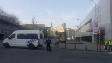 Bruxelles : le boulevard de Berlaimont rouvert à la circulation après les vérifications de la police