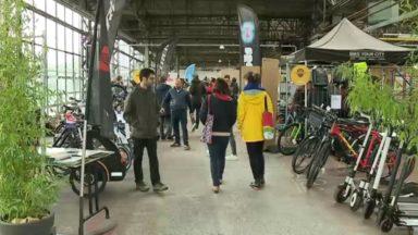 Une grande bourse à vélos a accueilli les cyclistes à Kanal