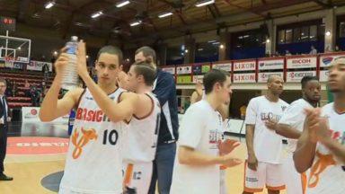 Basket-ball : le Brussels, vaincu par Mons puis vainqueur, quitte le podium