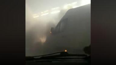 Le tunnel Léopold II fermé temporairement suite à de gros dégagements de fumée