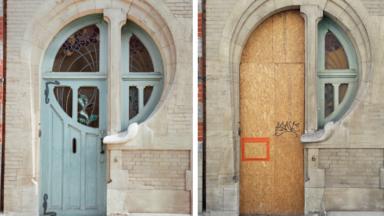 Ixelles : la maison Art nouveau de la rue du Lac en rénovation