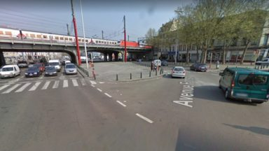 Un réaménagement temporaire des carrefours de la gare du Midi sur la Petite ceinture