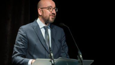 Élections fédérales : Charles Michel est le candidat Premier ministre du MR